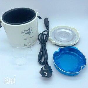 Image 4 - 1L جهاز طهي الأرز المستخدم في المنزل 110 فولت إلى 220 فولت أو سيارة 12 فولت إلى 24 فولت بما فيه الكفاية لشخصين مع تعليمات اللغة الإنجليزية