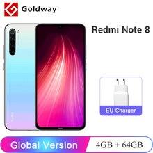 Global Version Xiaomi Redmi Note 8 4GB RAM 64GB ROM Snapdragon 665 Octa Core Cellphone 6.3″ 48MP Quad Rear Camera 4000mAh