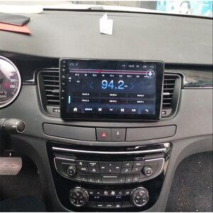 Image 2 - Radio samochodowe android odtwarzacz multimedialny dla Peugeot 508 2011 ~ 2016 samochodowy ekran dotykowy uchwyt na nawigację gps Carplay Bluetooth