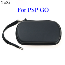 цена на YuXi For PSP Go EVA Bag Protective Storage Case Cover Holder Game Console With Strap Zipper for Sony PSP GO Storage bag