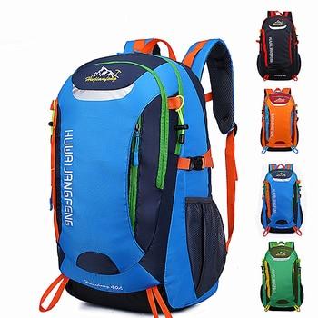 Outdoor Bags Sports Travel Mountaineering Backpack Camping Hiking Trekking Rucksack Waterproof Bike 40L School Bag - discount item  27% OFF Camping & Hiking