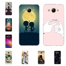 For Huawei Y3 2017 Case Silicone Ultra Thin Cover CRO-L02 CRO-L22 Cute Phone Cases
