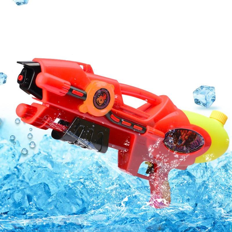 cheapest Water Guns Toys Classic Baby Toys Outdoor Beach Water Pistol Blaster Gun Portable Squirt Gun Kids Beach Toys Random Color
