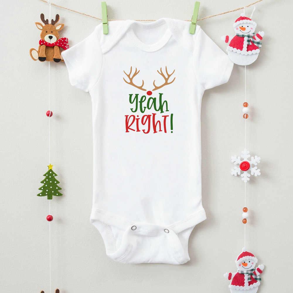 Stille Nacht Yeah Right! Twins Bijpassende Onesies Twins Kerstcadeau Grappige Twin Broers Bodysuits Pasgeboren Baby Kerstcadeaus