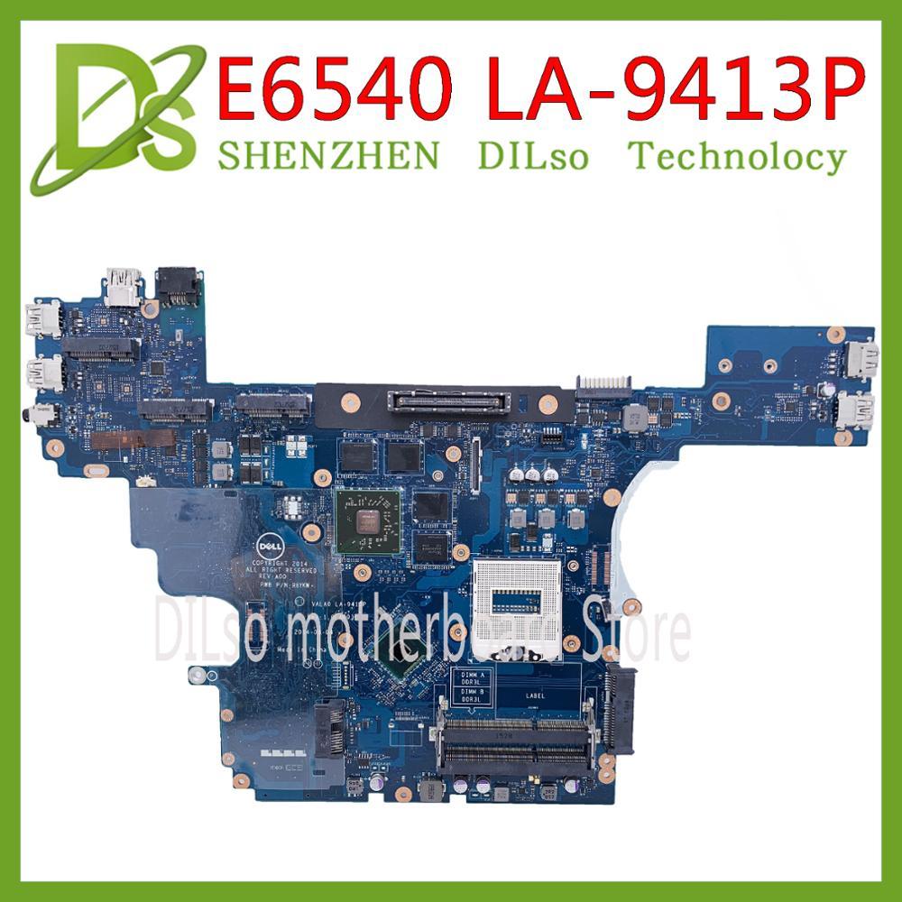KEFU VALA0 LA-9413P FOR Dell Latitude E6540 Laptop Motherboard HM87 PGA947 DDR3L HD 8790M 2GB 100% Tested Original Work