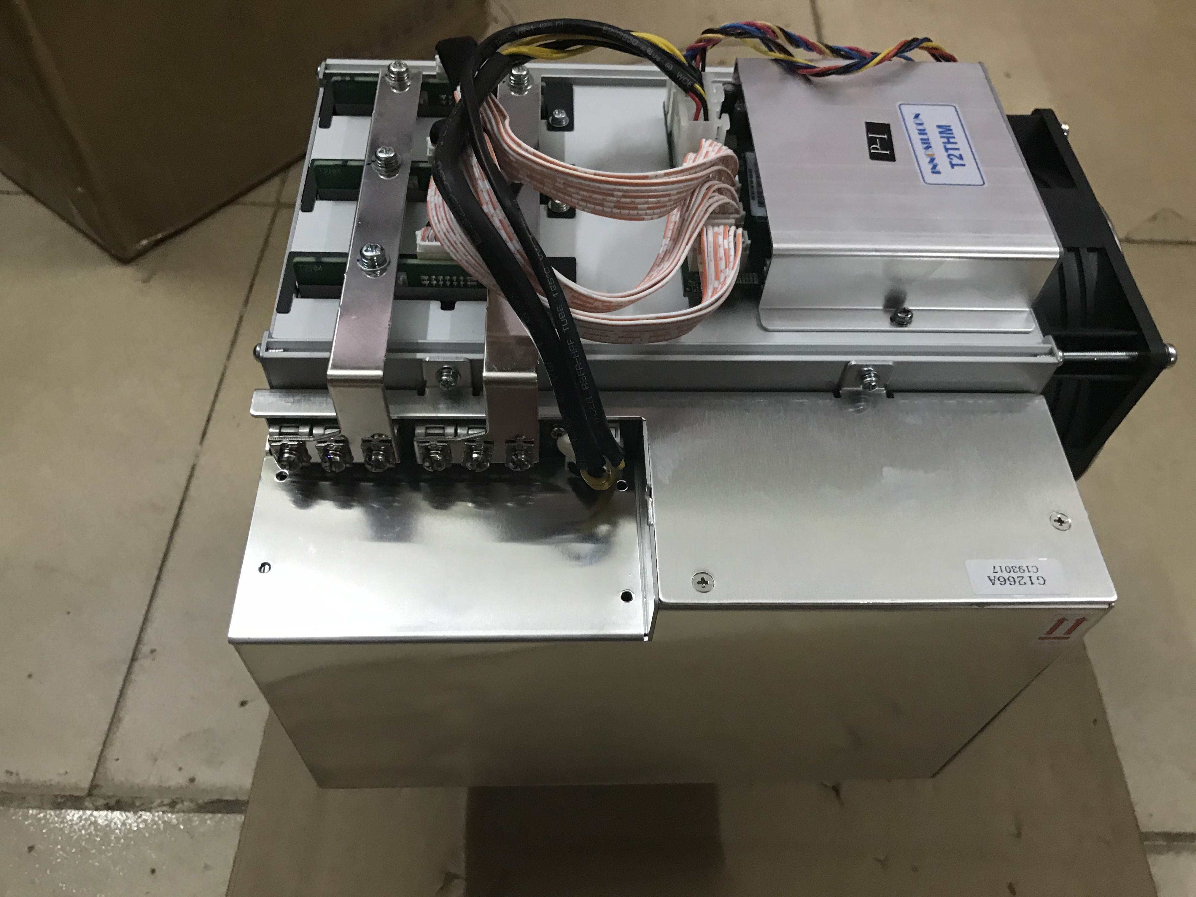 used old BTC Miner INNOSILICON Turbo  T2T  26TH/s Bitcoin Miner SHA256 With PSU Better Than Antminer S9 S11 S15 S17 T9+ T15 T1 3