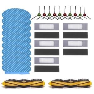 Hepa filtro principal escova para ecovacs deebot ozmo 950 920 trapos escovas laterais varrendo robô aspirador de pó peças