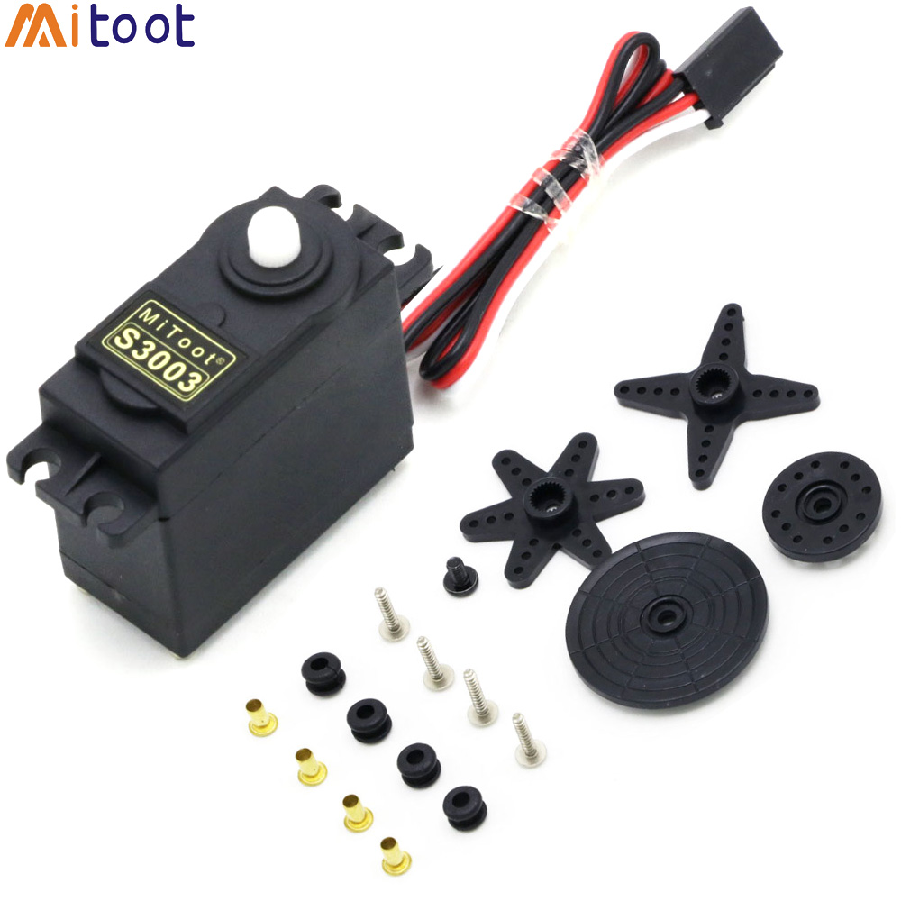 5set/lot Mitoot 38g S3003 Standard Servo For RC Futaba HPI Tamiya Kyosho Duratrax GS Racing Car Truch