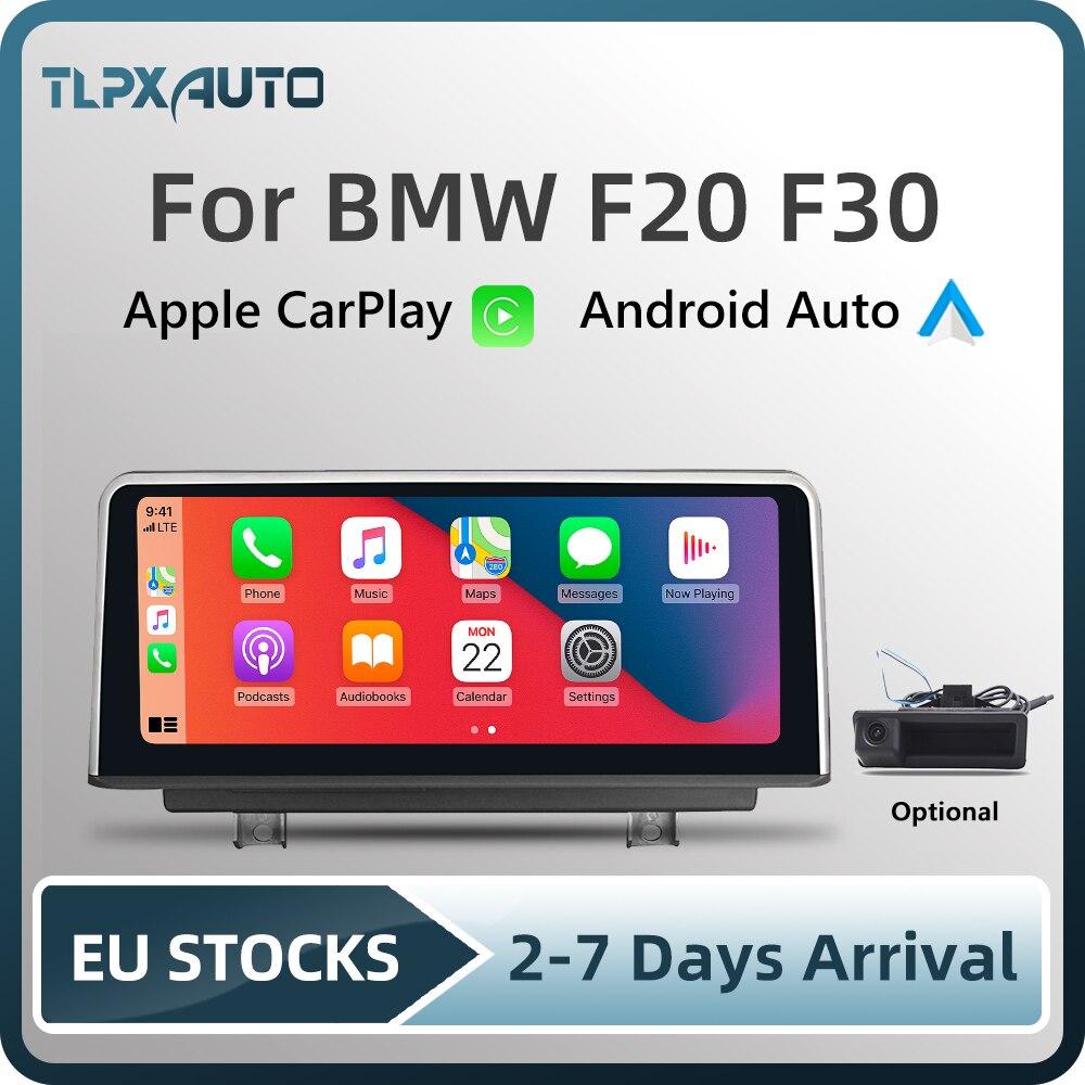 Автомобильный мультимедийный экран 10,25 дюйма Apple CarPlay, Android, экран для BMW серии 1/2 F20 F22 серии 3/4 F30 F32, головное устройство