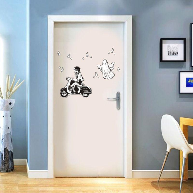 Funlife креативные 5 комплектов новых европейских декоративных стикеры Настенные акриловые зеркальные наклейки Корона Лебедь скандинавские И... - 3