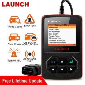 Image 1 - Startowy Creader V + czytnik kodów silnika OBD2 EOBD OBDII profesjonalne narzędzie diagnostyczne do samochodów uruchom skaner silnika OBD bezpłatna aktualizacja