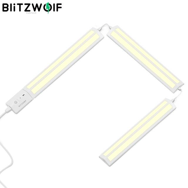 BlitzWolf BW LT25 Smart Automatische Sensor 12W 4000K LED Licht Streifen LED Abnehmbaren & Gespleißt Schrank Licht mit Nähte design
