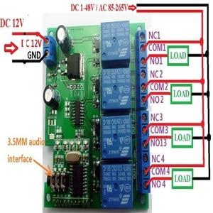 Image 4 - CE023 DC 12V DTMF MT8870 電話音声デコーダ制御モメンタリトグルラッチ遅延タイマー多機能リレーモジュール