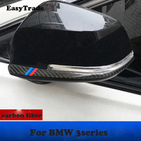 Carbon Fiber Rearview Mirror Anti collision Sticker Anti scratch protection strip For bmw 3 series 3 GT f30 Accessrioes