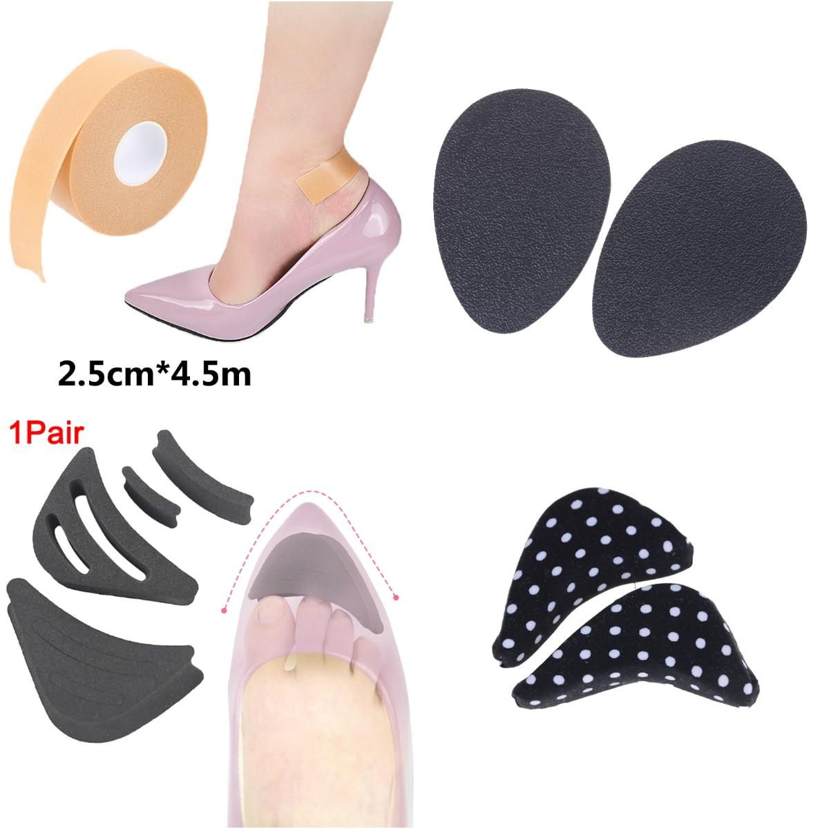 1Roll Anti-Wear Foam Heel Sticker Tape Cotton Patch Foot Care Blister Plaster Waterproof First Aid Blister Pedicure Pad Insole