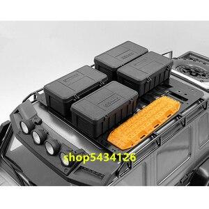 Пластиковые мини-Инструменты Аксессуары для радиоуправляемых гусеничных автомобилей для 1/10 Rc автомобилей внедорожных Игрушек части Trx4 Trx6 ...
