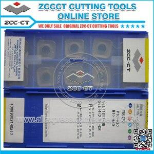Image 2 - Frete grátis zcc. ct fresa SEET12T3 DR ybg202 zccct ferramentas de corte seet12t3 cnc fresa inserções seet para p m k material