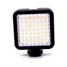 49 LED Photo Video Light lamp on Camera Hot Shoe LED Lighting for Canon Nikon Pentax DSLR Camcorder photography lighting
