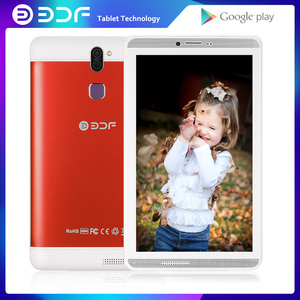 7 Inch Tablet Android 4.4 Sim Card Pc 1GB RAM 16GB ROM Quad Core 3G Phone Call WiFi Bluetooth Cheap And Simple