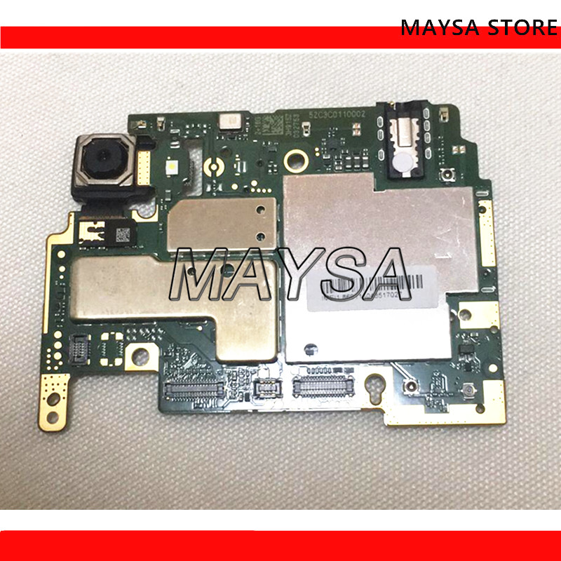 Electronic Panel Mainboard Motherboard Unlocked With Chips Circuits For Xiaomi RedMi Hongmi 6A 16GB 32GB