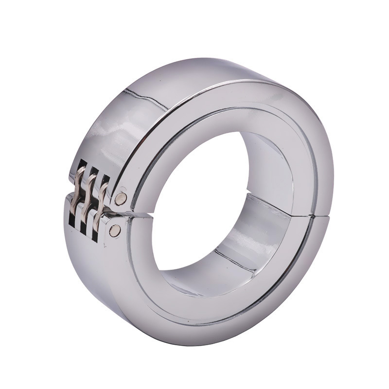 Scrotum Bondage Cock Ring <font><b>Ball</b></font> Stretcher Stainless Steel Penis Rings <font><b>Adult</b></font> <font><b>Sex</b></font> <font><b>Toys</b></font> <font><b>For</b></font> <font><b>Men</b></font> Cockring Ballstretcher image