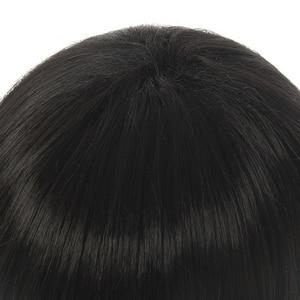 Image 4 - L email wig Toilet Bound Hanako kun Cosplay Wig Jibaku Shounen Hanako kun Cosplay Black Short Wig Heat Resistant Synthetic Hair