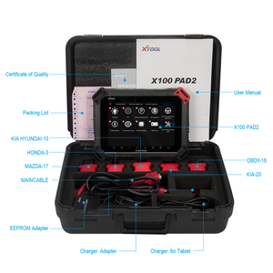 Image 5 - X100 PAD2 OBD2 Auto Key Programmer Odometer Correction Tool Code Reader Car Diagnostic tool with Special Function Update online