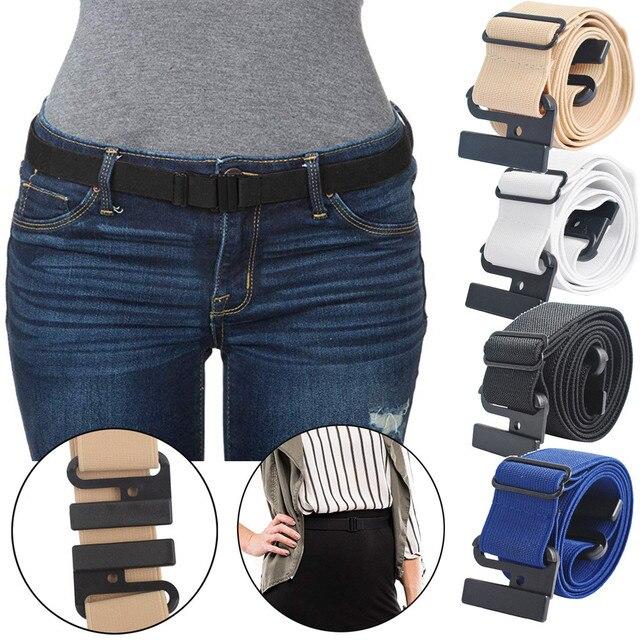 Простой женский ремешок на джинсы 1