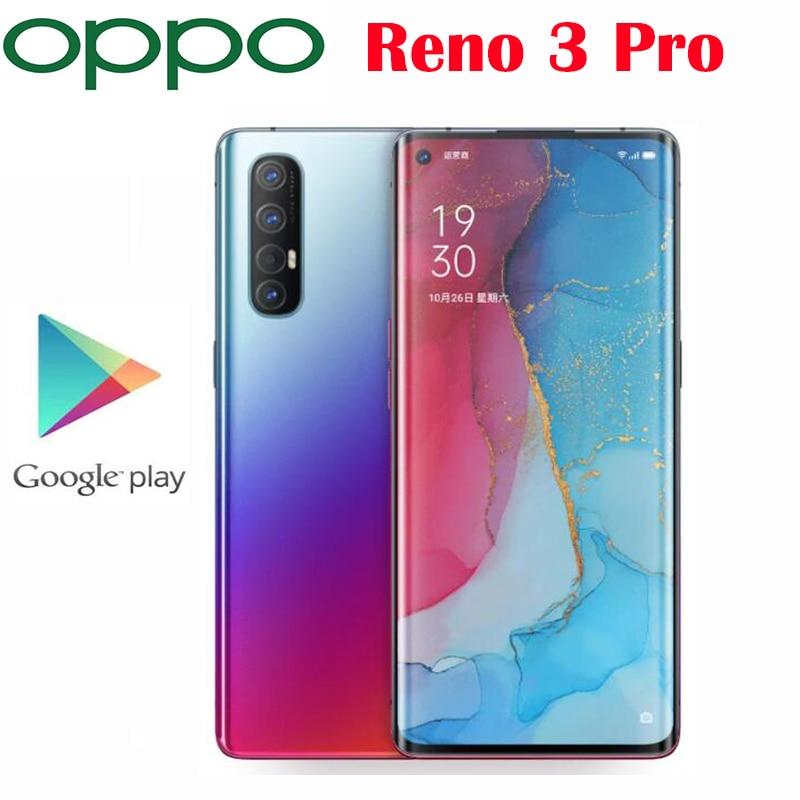 New Original Official Oppo Reno 3 Pro 5G Smartphone Snapdragon 765G Octa Core 6.5inch 4025mAh 48MP+13MP+8MP+2MP Real Cameras NFC|Cellphones| - AliExpress