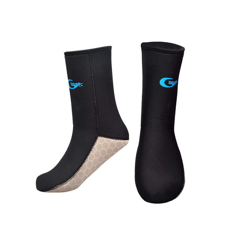YONSUB 5mm Neoprene Diving Socks Adults Socks Boots Non-Silp Spearfishing Surfing Swimming Beach Water Wetsuit Socks Boots