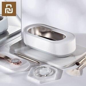 Image 1 - Xiaomi máquina de limpieza por ultrasonidos EraClean, limpiador de vibración de alta frecuencia, 45000Hz, lavado de joyas, gafas, anillos de reloj