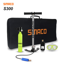 Smaco Scuba Diving Tank Equipment Mini Scuba Dive Cylinder scuba diving oxygen tank box snorkel dive tank(China)