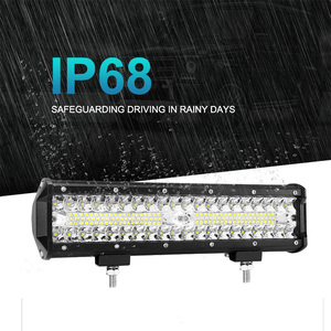 "Image 5 - Nlpearl 2x 7"" 12"" 120W 240W LED Bar Light Bar for Driving Offroad Boat Car Tractor Truck ATV Spot Flood Combo LED Work Light Bar"