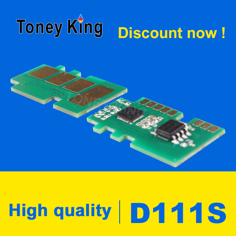 Toney King D111 MLT D111S 111 Toner Chips Compatible for Samsung <font><b>Xpress</b></font> M2070 M2070FW M2071FH M2020 <font><b>M2020W</b></font> M2021 M2022 Chip image