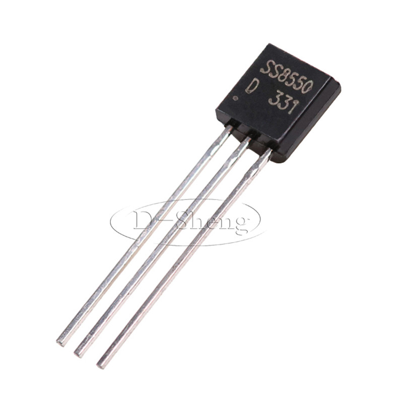 100pcs In-line Transistor SS8550D SS8550 Double S High Current TO-92