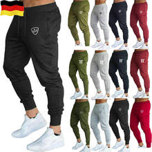 Herren Sport Gym Slim Fit Trainingsanzug Dünne Jogging Jogger Jogginghose Schlauch