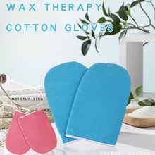 Cotton-Gloves Wax-Heater Paraffin-Wax Protection 1-Pair Blue for Warmer Professional