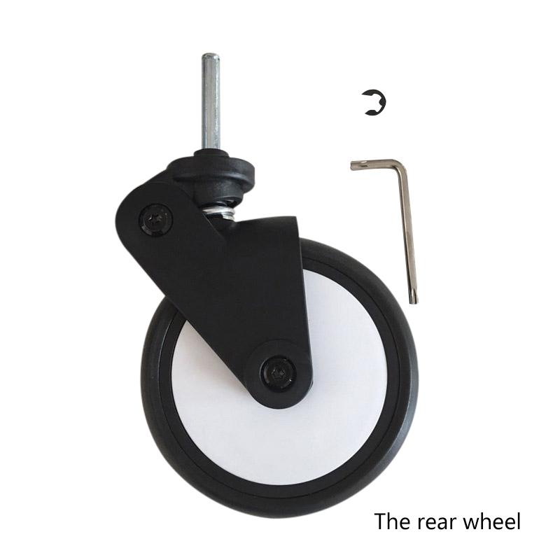 Baby Stroller Front And Rear Wheels Baby Stroller Wheels Replacement Baby Carriage Casters Universal Stroller Accessories
