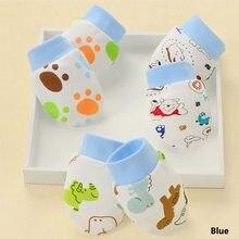 Gants anti-rayures pour bébé, 100% coton, 1 paire, pour nouveau-né, Protection du visage, mitaines, accessoires pour nourrissons