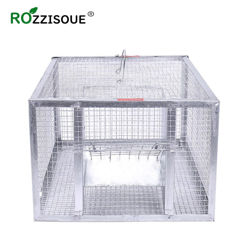 Reusable Rat Trap Large Mouse Rat-trap Continuous Mice Hamster Cage Control Bait Rodent Repeller Catch MouseHamster Mouse Trap image