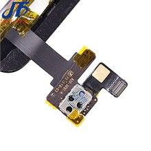 10 個の交換 ipad ミニ 1 2 mini1 mini2 デジタイザタッチスクリーンホームボタンと IC コネクタ + フレックスケーブルアセンブリ
