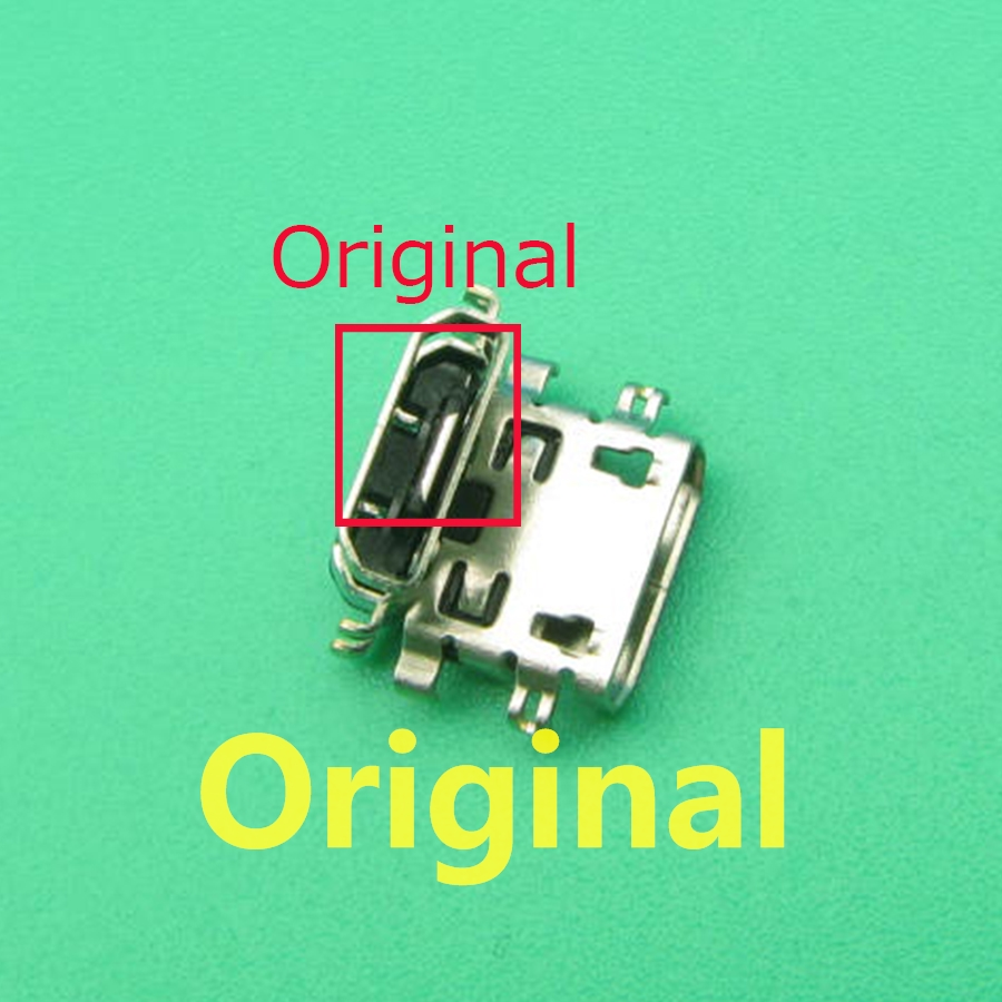 10pcs For Lenovo K6 Note K6Note K53a48 Mini Micro USB Charging Port Dock Connector Socket Power Plug Dock