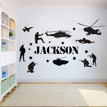 Soldiers War Helicopters wall stickers for Kids wall decor Military Wall decals Nursery Bedroom Boy Teenager Room decor HY742 vinyl wall sticker for kids boy teenager room wall decor excavator wall decals nursery bedroom stickers home decoration hy740