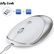 Jelly Comb 3.0/5.0 Bluetooth Mouse Wireless Rechargeable Mouse Silent Mause Bluetooth