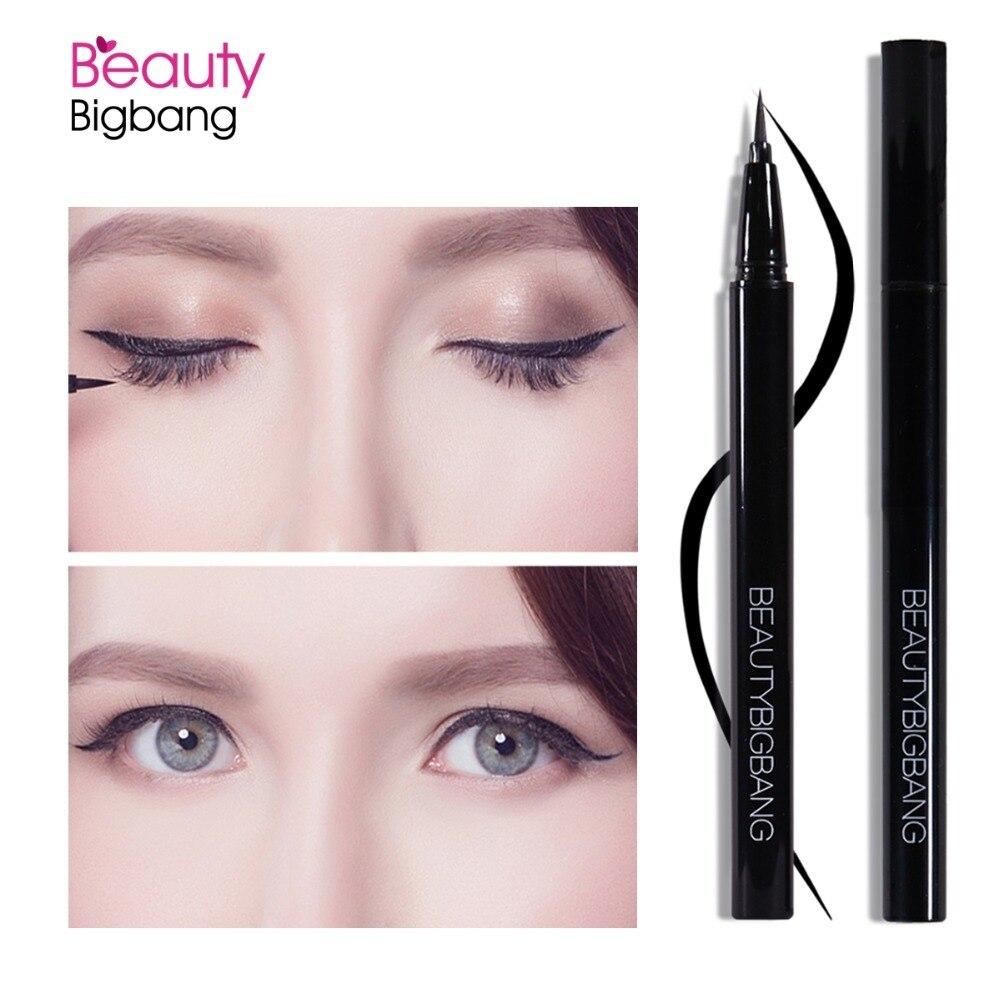 BeautyBigBang Black Color Long-lasting Eye Liner Pencil Waterproof Liquid Eyeliner Eyeshadow Pen Eye Cosmetics Makeup Tools