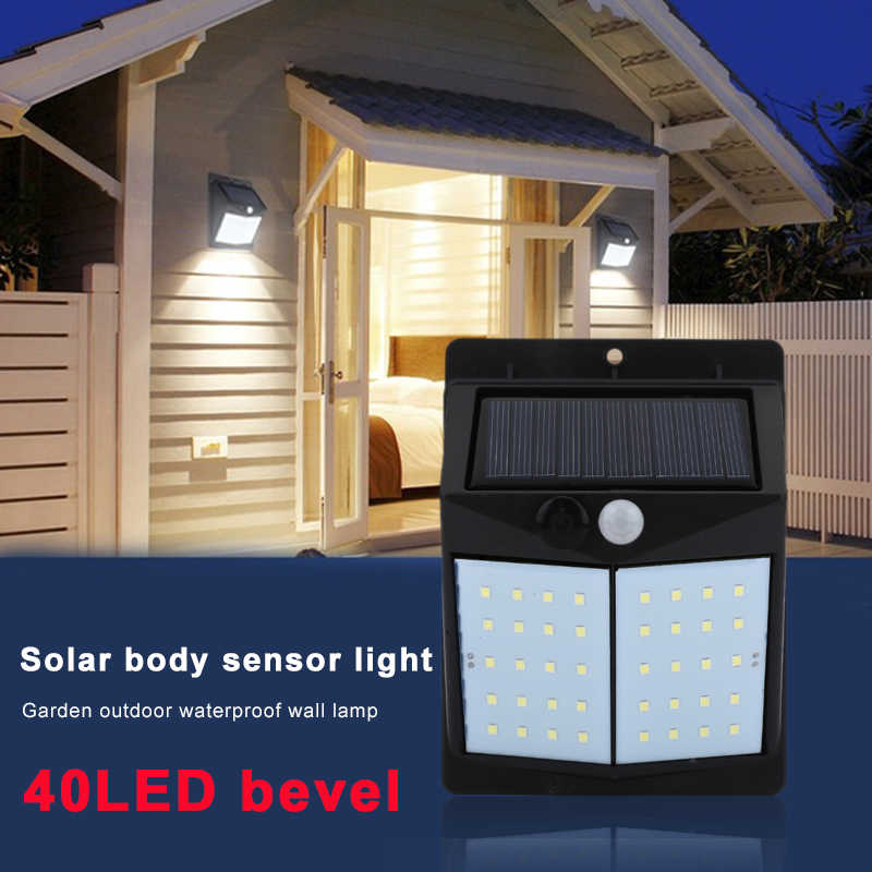 Street Lamp Walkway Lights Wall Light Home Outdoor Flashlight Room Lighting Motion Sensor Solar