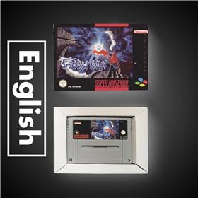 Image 1 - Terranigma EURรุ่นRPGเกมประหยัดแบตเตอรี่ขายปลีกกล่อง