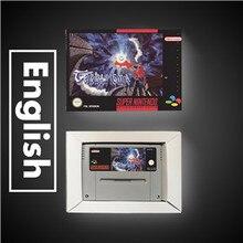 Terranigma   EUR نسخة آر بي جي بطاقة الألعاب بطارية حفظ مع صندوق البيع بالتجزئة