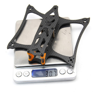 Image 4 - Kbat136 136mm rozstaw osi 3 Cal 3mm 30.7g ramię zestaw ze szkieletem dla Rc Drone Fpv Racing modele część zamienna Diy akcesoria