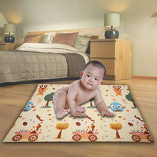 Double-sided Folding Puzzle Playmat Infant Shining Kid XPE Play Mat Game Pad for Crawling non-slip yoga 180x200CM